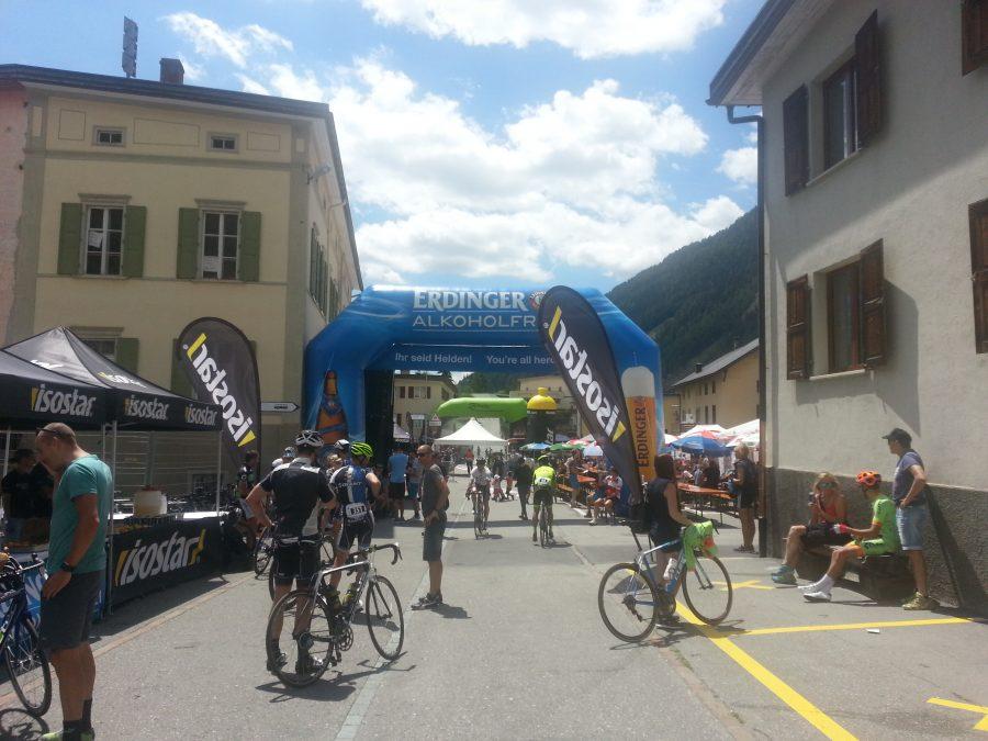 Ziel Engadin Radmarathon